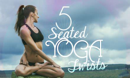 5个坐姿扭转体式,排毒素消脂肪✪